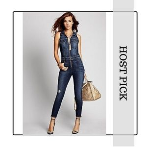 4cea389292f4 Guess by Marciano Jeans - ✨HP✨ GUESS cara denim jumpsuit - NWT